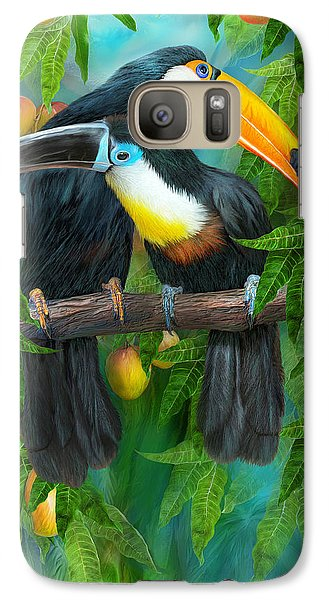 Tropic Spirits - Toucans Galaxy S7 Case