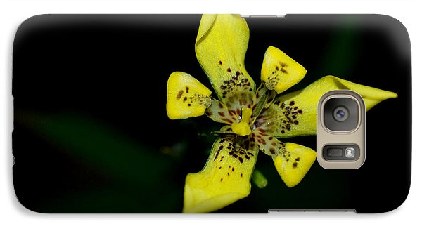 Galaxy Case featuring the photograph Tropic Yellow by Miguel Winterpacht