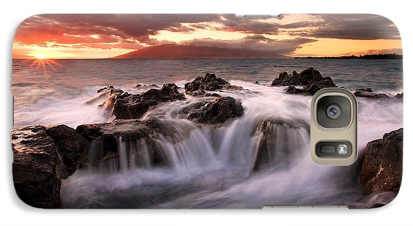Galaxy Case featuring the photograph Tropical Cauldron by Mike  Dawson