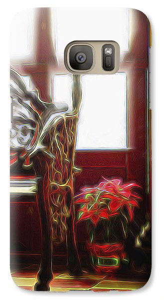 Galaxy Case featuring the digital art Tropical Drawing Room 1 by William Horden
