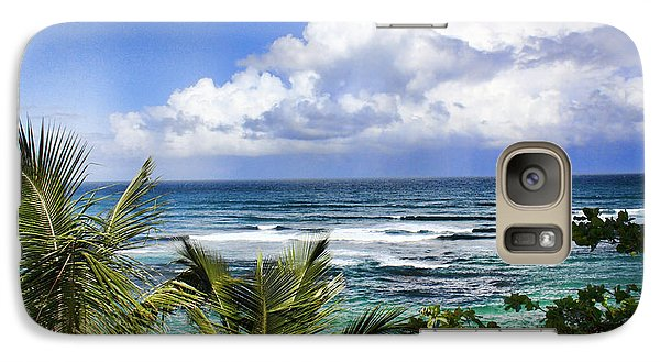 Galaxy Case featuring the photograph Tropical Dreams by Daniel Sheldon