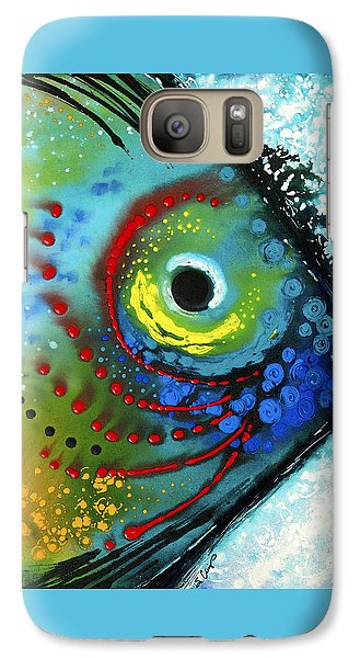 Tropical Fish - Art By Sharon Cummings Galaxy Case by Sharon Cummings