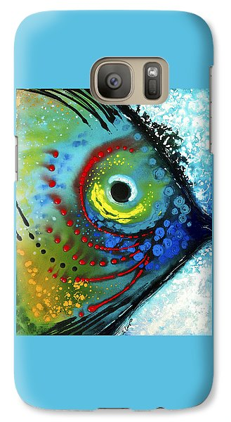 Tropical Fish - Art By Sharon Cummings Galaxy S7 Case by Sharon Cummings