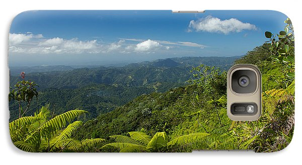 Galaxy Case featuring the photograph Tropical Highlands by Jose Oquendo