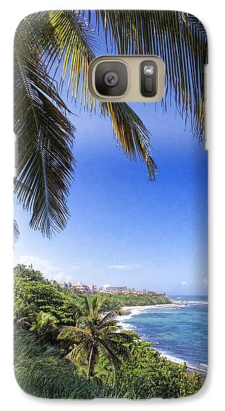 Galaxy Case featuring the photograph Tropical Holiday by Daniel Sheldon