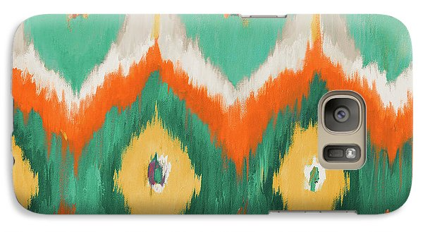 Tropical Ikat II Galaxy S7 Case by Patricia Pinto