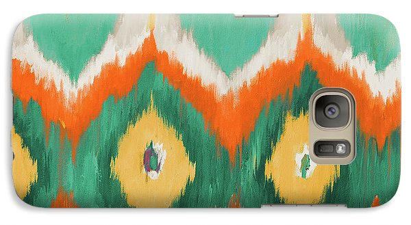 Tropical Ikat II Galaxy Case by Patricia Pinto