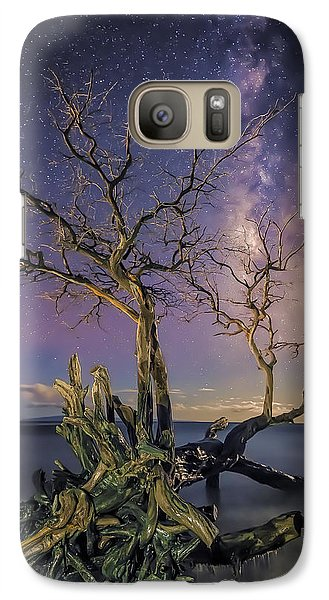 Galaxy Case featuring the photograph Tropical Nights by Hawaii  Fine Art Photography