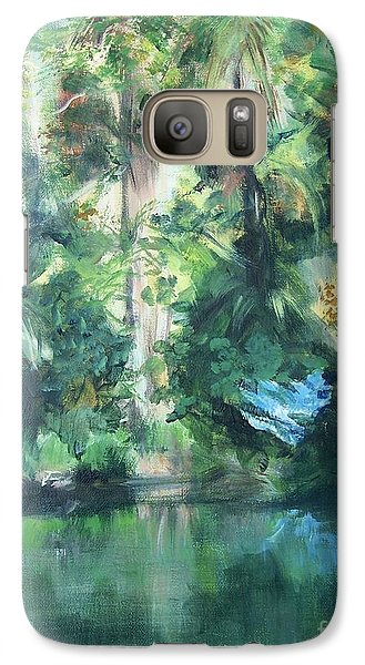 Galaxy Case featuring the painting Tropical Treasure by Mary Lynne Powers