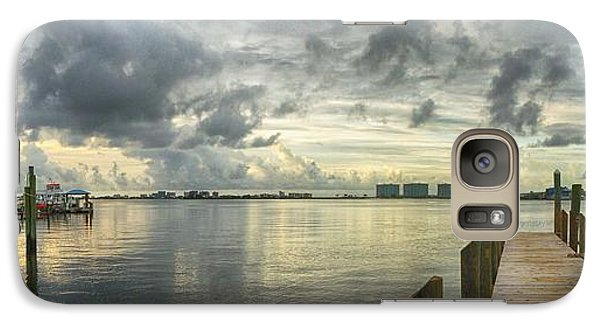 Galaxy Case featuring the digital art Tropical Winds In Orange Beach by Michael Thomas