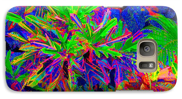 Galaxy Case featuring the photograph Tropicals Gone Wild by David Lawson