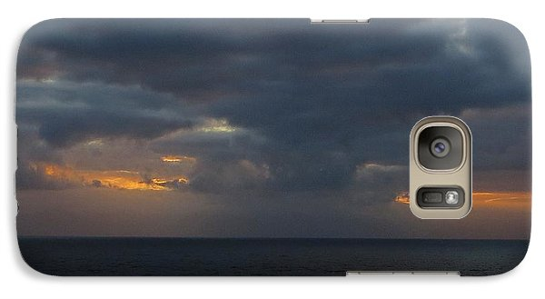 Galaxy Case featuring the photograph Troubled Skies by Jennifer Wheatley Wolf