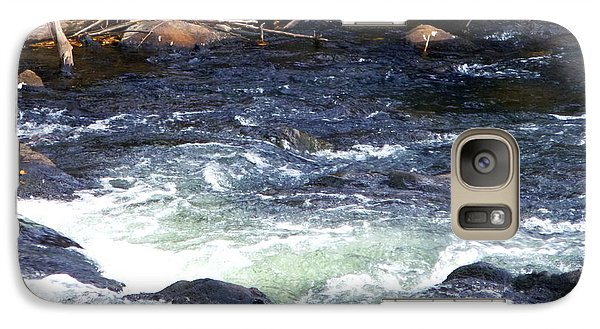 Galaxy Case featuring the photograph Trout River by Jackie Carpenter
