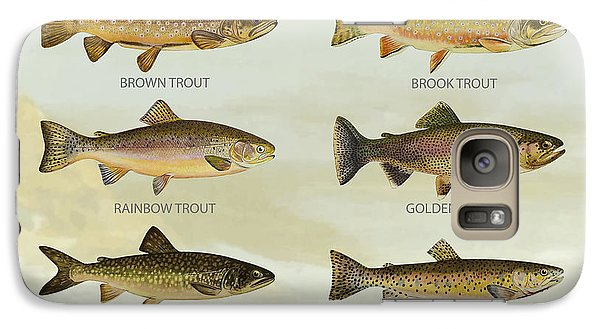 Salmon Galaxy S7 Case - Trout Species by Aged Pixel
