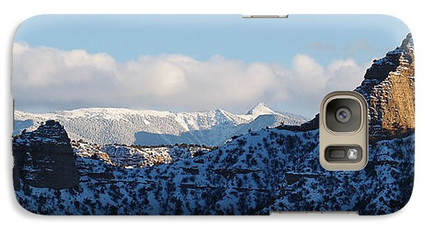 Galaxy Case featuring the photograph Truchas Peaks by Atom Crawford