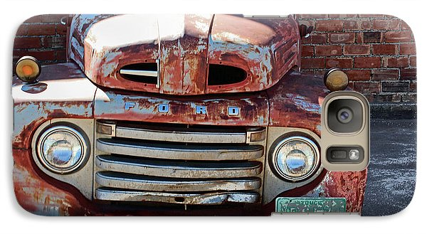 Galaxy Case featuring the photograph Ford In Goodland by Lynn Sprowl