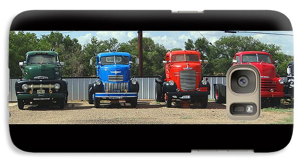 Galaxy Case featuring the photograph Truckin by Tom DiFrancesca