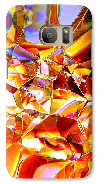 Galaxy Case featuring the digital art True Brilliance by Andreas Thust