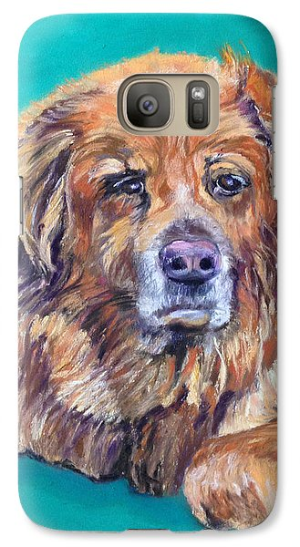 Galaxy Case featuring the pastel True Companion by Julie Maas