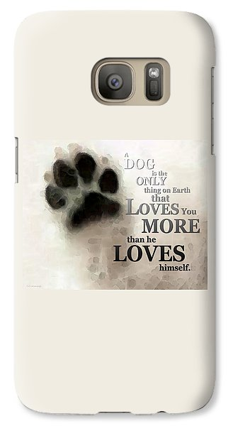 True Love - By Sharon Cummings Words By Billings Galaxy S7 Case