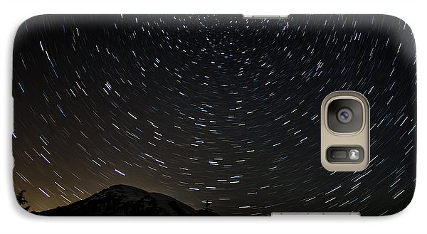 Galaxy Case featuring the photograph True North 1 by David Stine