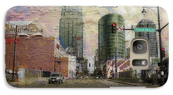 Galaxy Case featuring the photograph Truman Road Kansas City Missouri by Liane Wright
