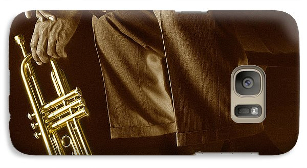 Trumpet 2 Galaxy S7 Case by Tony Cordoza