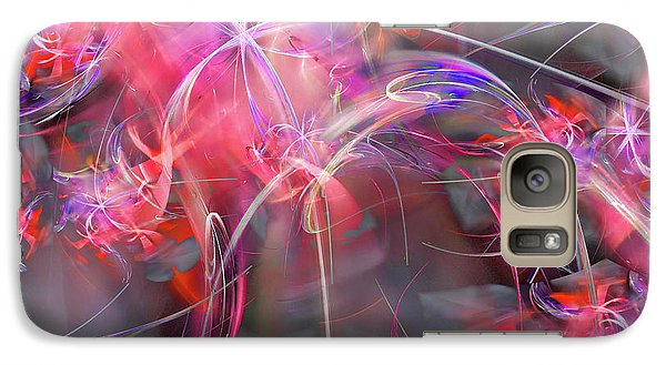 Galaxy Case featuring the digital art Truth Shall Spring Out by Margie Chapman
