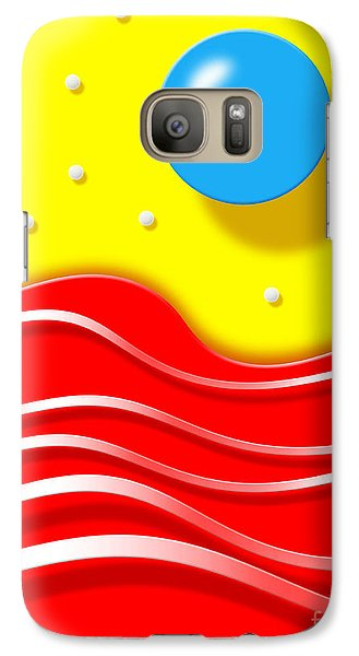 Galaxy Case featuring the digital art Tsunami 2 by Cristophers Dream Artistry