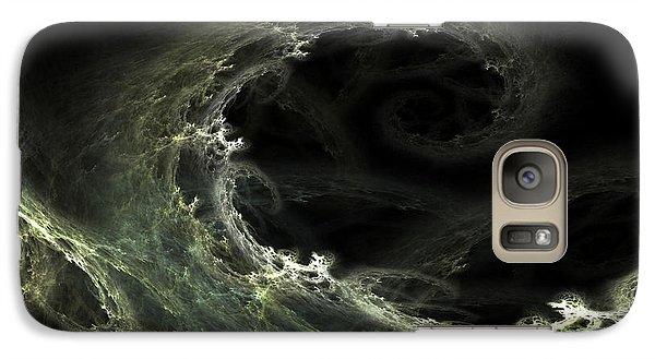 Galaxy Case featuring the digital art Tsunami by Richard Ortolano