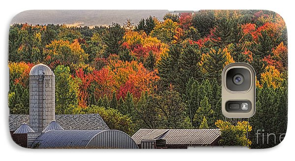 Galaxy Case featuring the photograph Tucked Away In Autumn by Trey Foerster