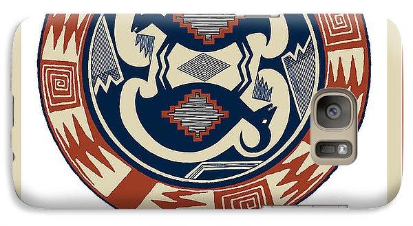 Galaxy Case featuring the digital art Tucson Arizona  by Vagabond Folk Art - Virginia Vivier