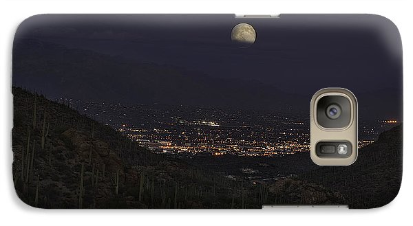 Tucson At Dusk Galaxy S7 Case by Lynn Geoffroy