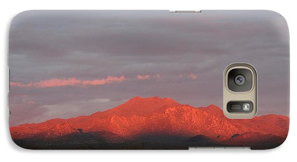 Galaxy Case featuring the photograph Tucson Mountains by David S Reynolds