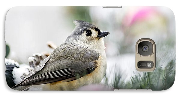 Tufted Titmouse Portrait Galaxy S7 Case