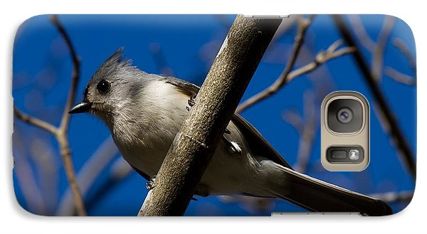 Galaxy Case featuring the photograph Tufted Titmouse by Robert L Jackson