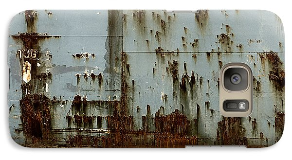 Galaxy Case featuring the photograph Tug- A Fisherman's Impression by Joy Angeloff