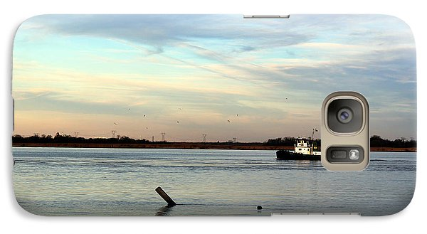 Galaxy Case featuring the photograph Tug Boat by David Jackson