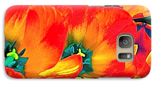 Galaxy Case featuring the photograph Tulip 1 by Pamela Cooper