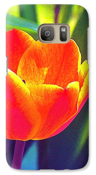 Galaxy Case featuring the photograph Tulip 2 by Pamela Cooper