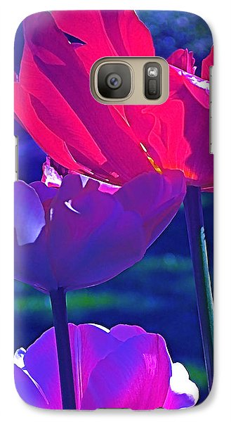 Galaxy Case featuring the photograph Tulip 3 by Pamela Cooper