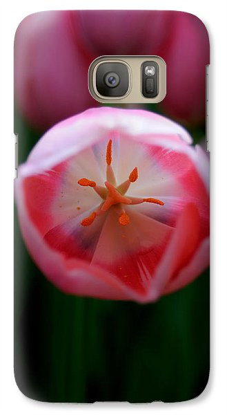 Galaxy Case featuring the photograph Tulip Beauty  by Haleh Mahbod