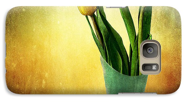 Galaxy Case featuring the photograph Tulip Bouquet by Shirley Mangini