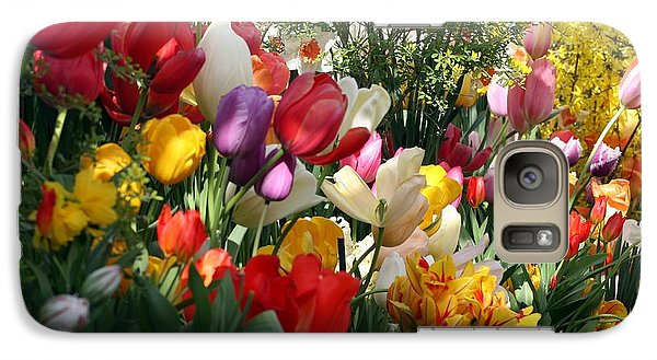 Galaxy Case featuring the photograph Tulip Festival by Mary Lou Chmura