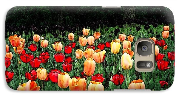 Galaxy Case featuring the photograph Tulip Festival  by Zinvolle Art