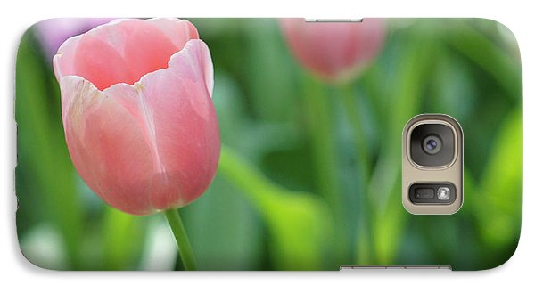 Galaxy Case featuring the photograph Tulip by Kathy Churchman