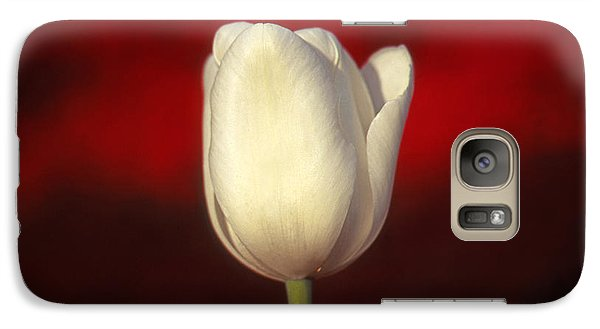 Galaxy Case featuring the photograph Tulip by Marion Johnson