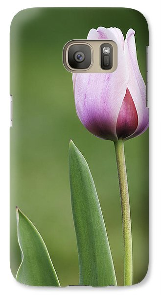 Galaxy Case featuring the photograph Tulip 2 by Ram Vasudev