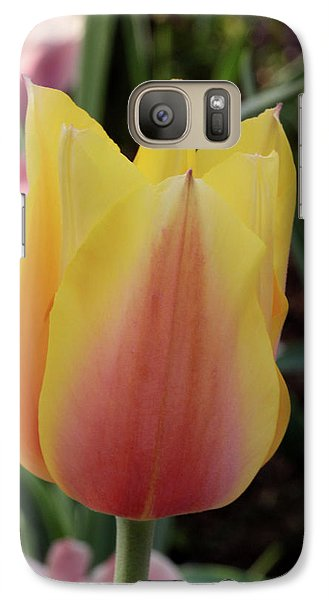 Galaxy Case featuring the photograph Tulip Time by Harold Rau