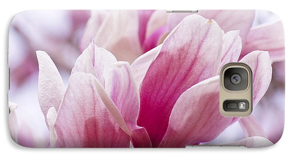Galaxy Case featuring the painting Tulip Tree Blooms by Debra Crank